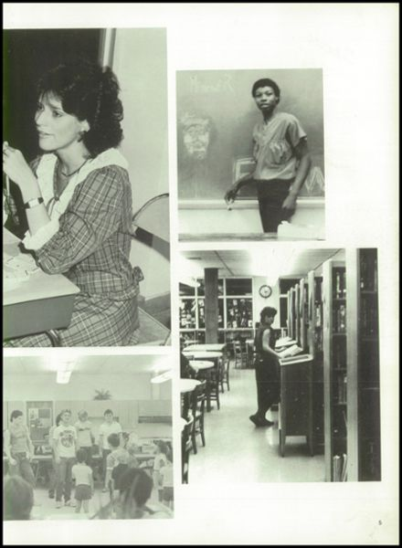 1986 South Pittsburg High School Yearbook Page 9