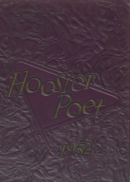 1952 James Whitcomb Riley High School Yearbook Cover