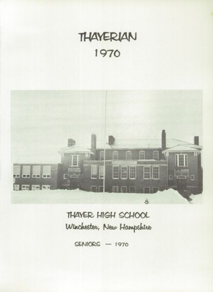 1970 Thayer High School Yearbook Page 5