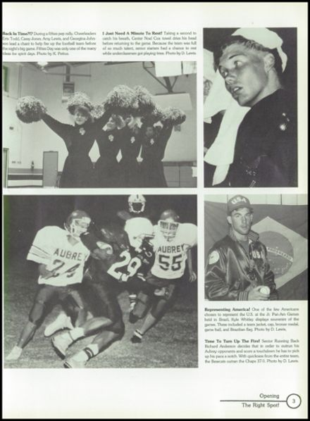 1991 Selz High School Yearbook Page 7