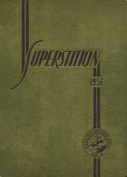 1956 Mesa High School Yearbook Cover