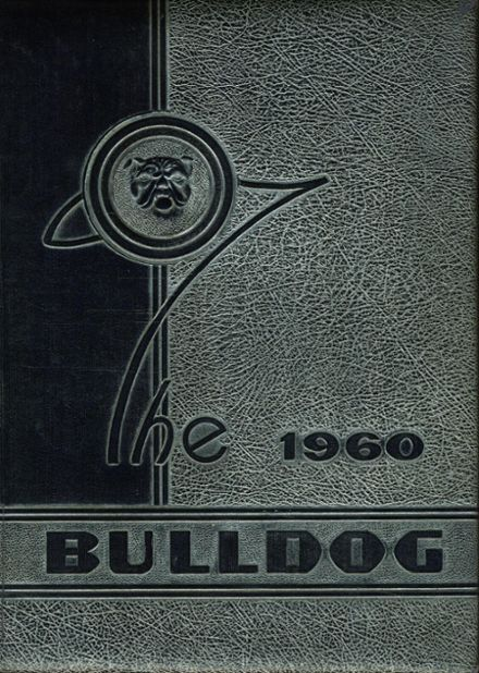 1960 Bartlett High School Yearbook Cover