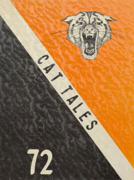 1972 North Union High School Yearbook Cover