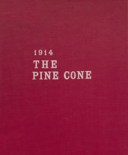 1914 Pine Bluff High School Yearbook Cover