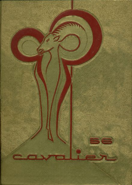 1956 Pulaski High School Yearbook Cover