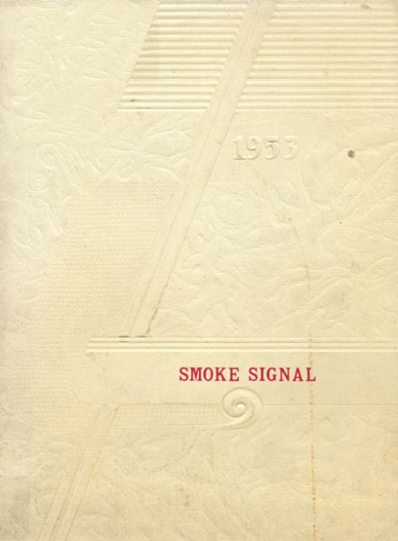 1953 Carlisle-Haddon High School Yearbook Cover