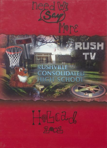 2001 Rushville Consolidated High School Yearbook Page 1