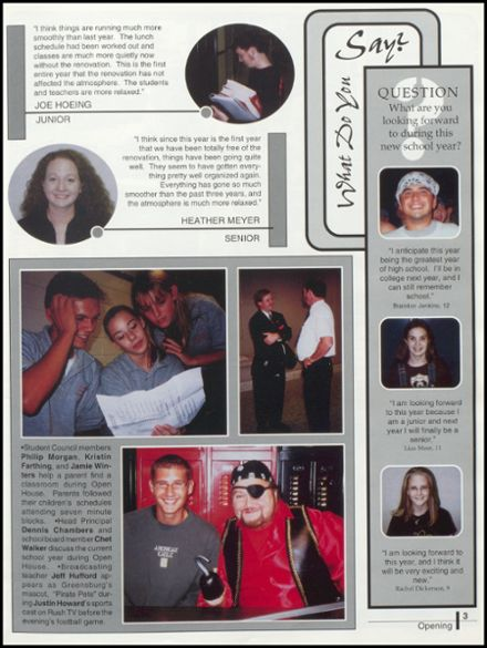 2001 Rushville Consolidated High School Yearbook Page 7