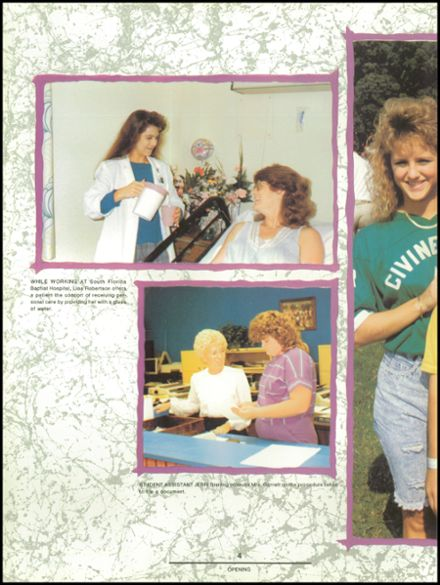 1990 Plant City High School Yearbook Page 8