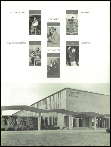 1963 Princeton High School Yearbook Page 7