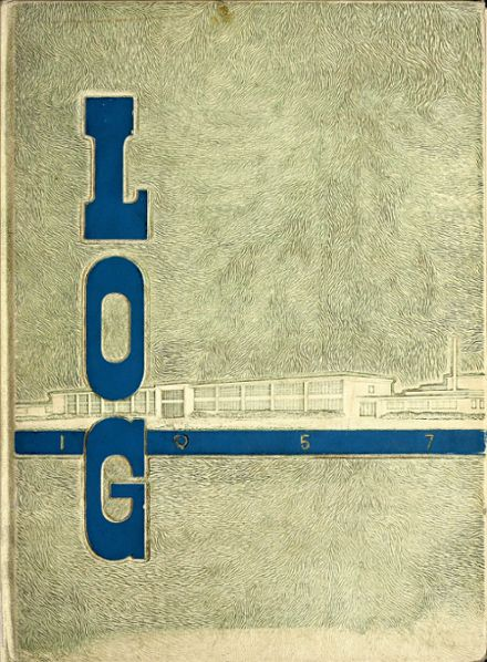 1957 Columbus North High School Yearbook Cover