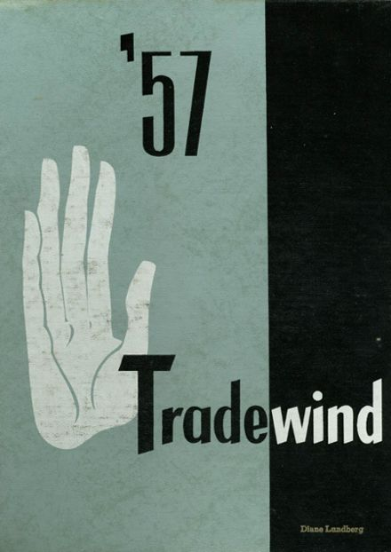 1957 Minneapolis Vocational Yearbook Cover