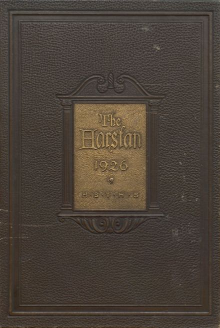 1926 Harter Stanford Township High School Yearbook Cover