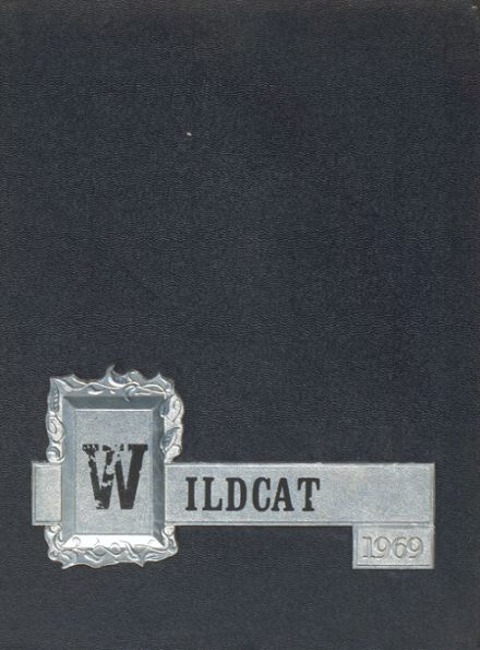 1969 Onsted High School Yearbook Cover