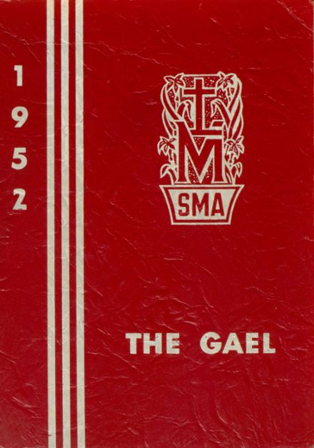 1952 St. Mary's Academy Yearbook Cover