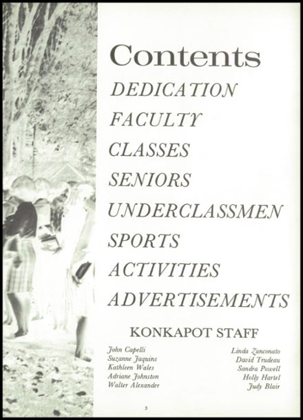 1965 Williams High School Yearbook Page 7