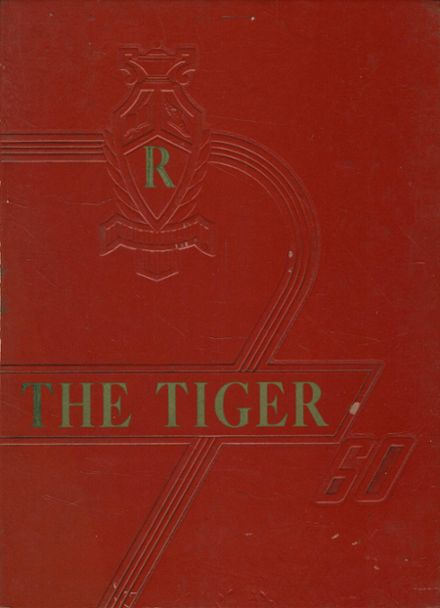1960 Central High School Yearbook Cover