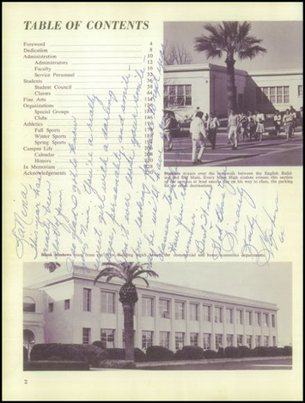 1963 Mesa High School Yearbook Page 6