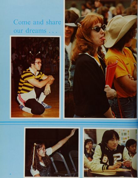 1981 Peterson High School Yearbook Page 8