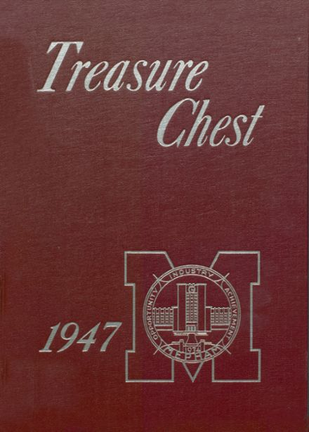 1947 Mepham High School Yearbook Cover