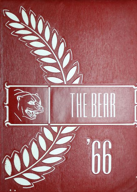 1966 West Oso High School Yearbook Cover