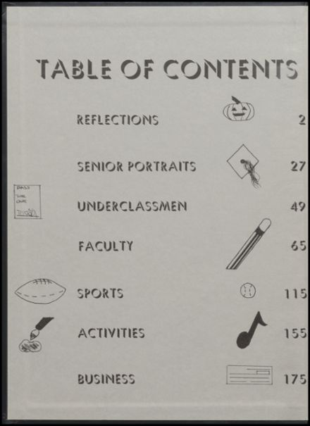 1994 Freeport High School Yearbook Page 2