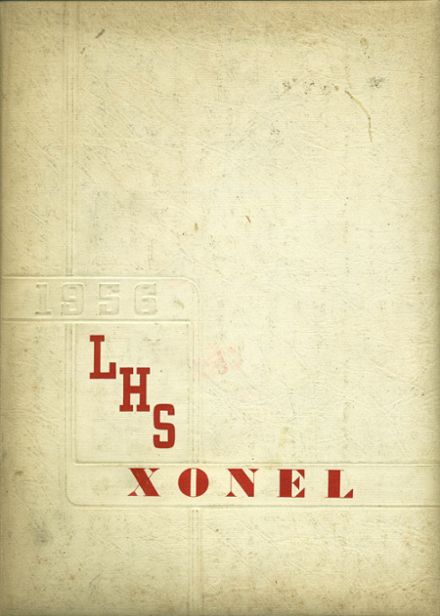 1956 Lenox Memorial High School Yearbook Cover