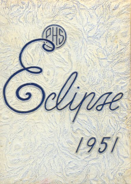 1951 Perry High School Yearbook Cover