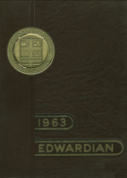 1963 St. Edward High School Yearbook Cover