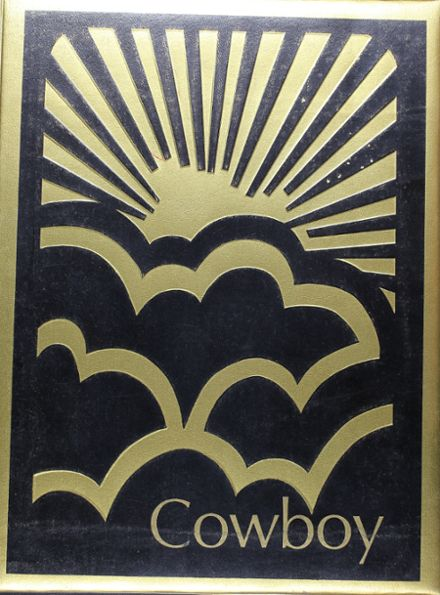 1973 Woodson School Yearbook Cover
