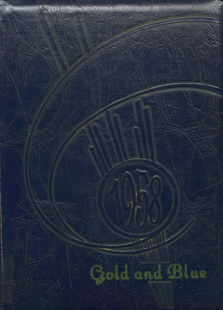 1958 Newkirk High School Yearbook Cover