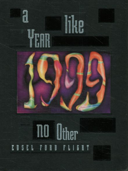 1999 Edsel Ford High School Yearbook Cover