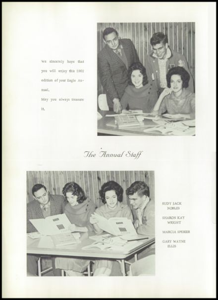 1962 New Diana High School Yearbook Page 6