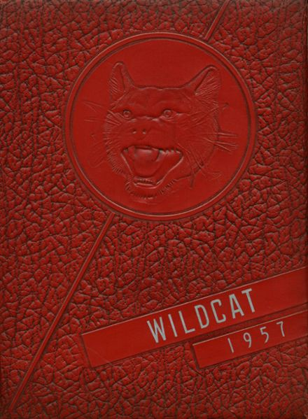 1957 Laney High School Yearbook Cover