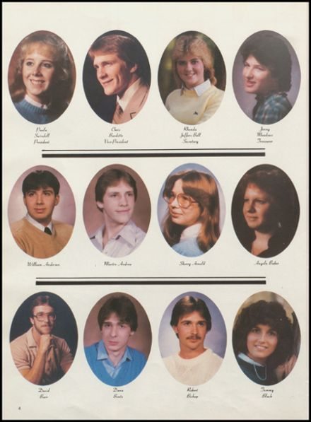 1984 Meigs High School Yearbook Page 8