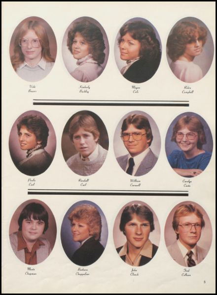 1984 Meigs High School Yearbook Page 9