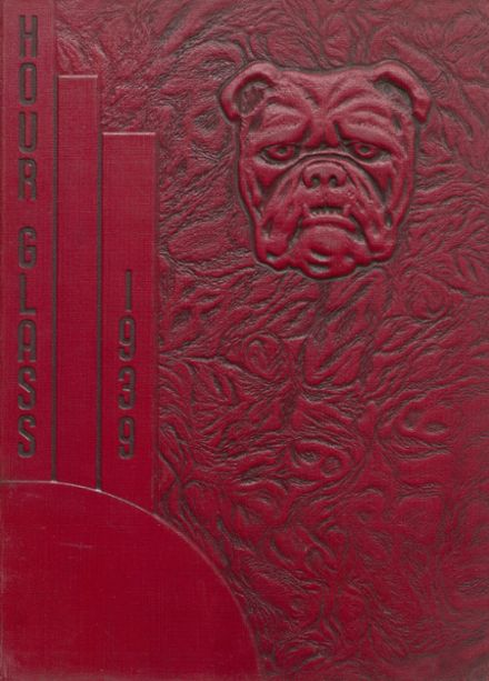 1939 Anniston High School Yearbook Cover