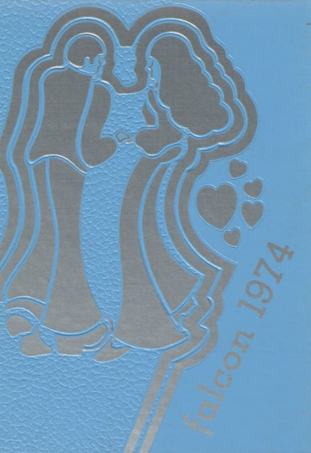 1974 Louisa-Muscatine High School Yearbook Cover