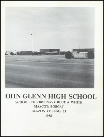 1988 John Glenn High School Yearbook Page 5