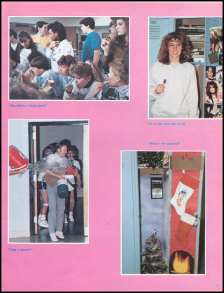 1988 John Glenn High School Yearbook Page 7