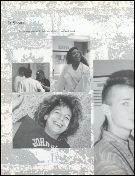 1988 John Glenn High School Yearbook Page 8