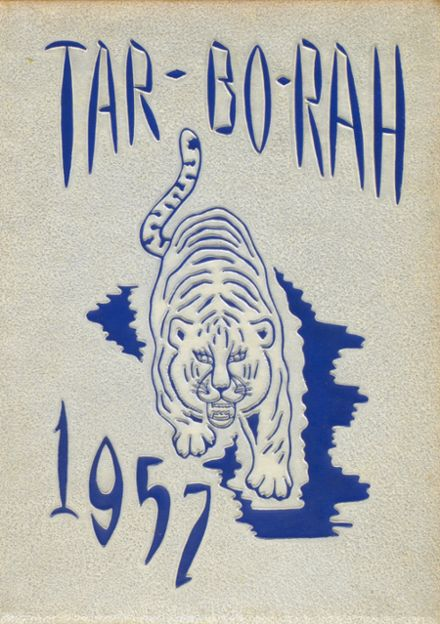 1957 Tarboro High School Yearbook Cover
