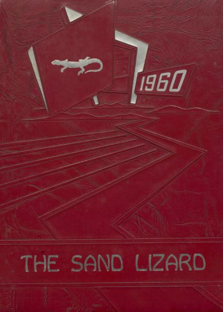 1960 Dardanelle High School Yearbook Cover