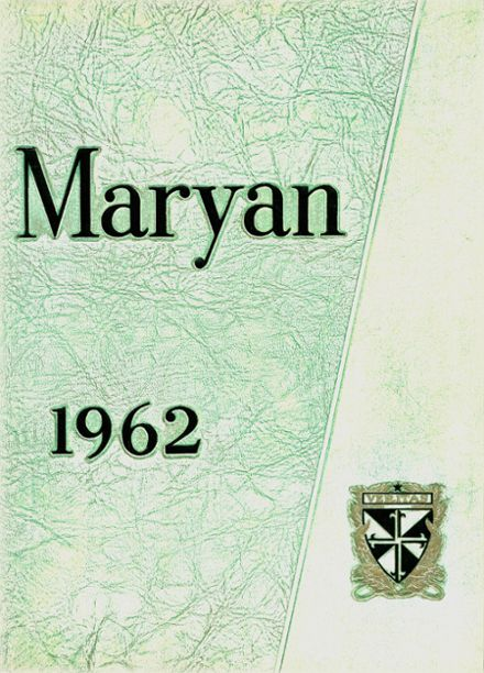 1962 St. Mary's High School Yearbook Cover