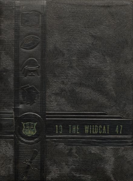 1947 Archer City High School Yearbook Cover