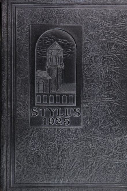 1925 Glendale High School Yearbook Cover