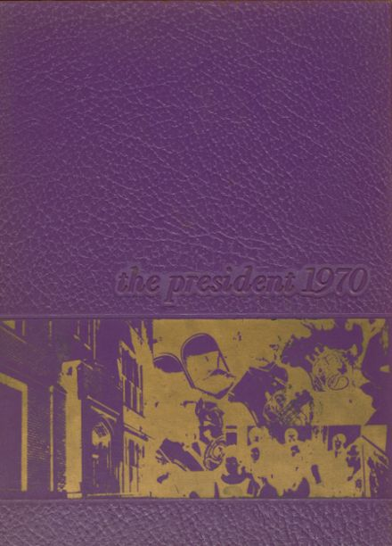 1970 Washington High School Yearbook Cover