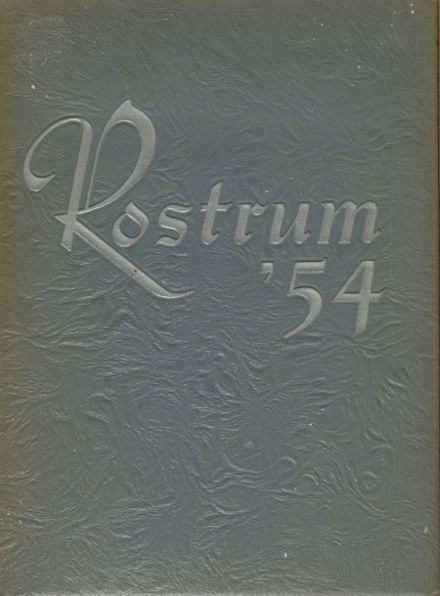 1954 Summit Country Day Yearbook Cover