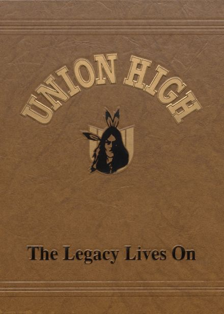 2002 Union High School Yearbook Cover