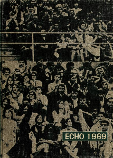 1969 Central Catholic High School Yearbook Cover